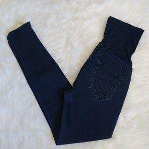 True Religion Maternity Skinny Jeans